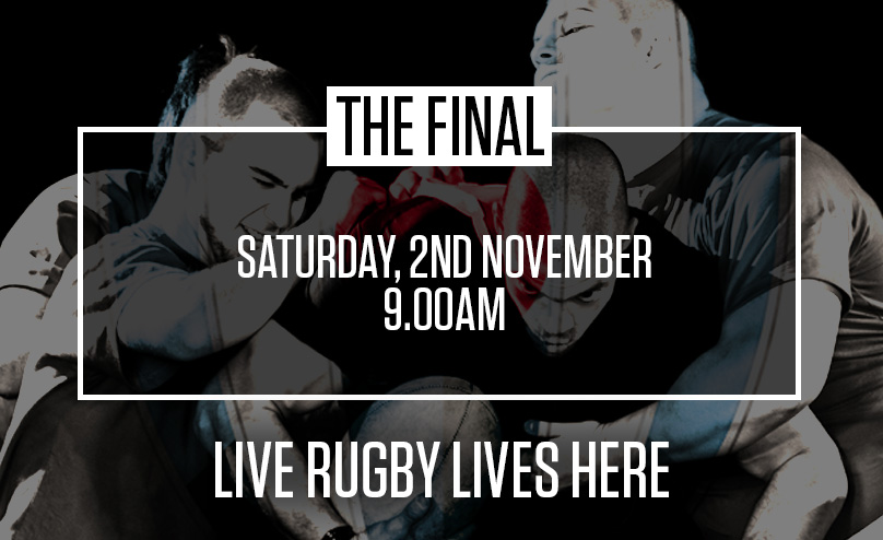 Live Rugby at The Earl Derby