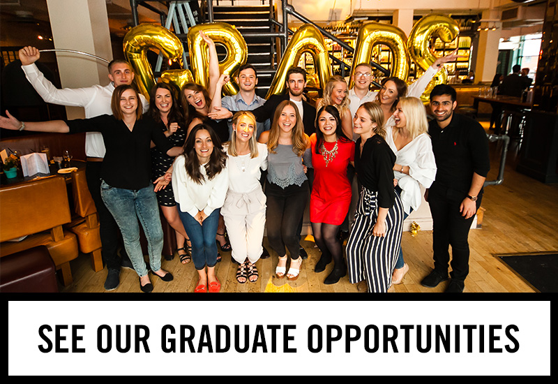 Graduate opportunities at The Earl Derby