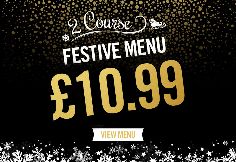 Festive Menu at The Earl Derby